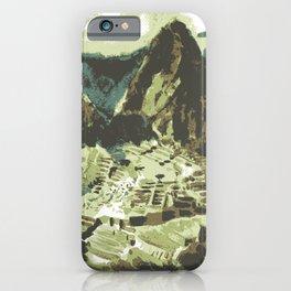 Machu Picchu Peru iPhone Case