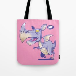 T Rhinosaurus Rex Tote Bag