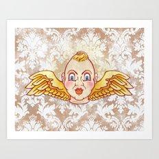 Cherub Kewpie Art Print