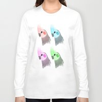 popart Long Sleeve T-shirts featuring Popart Birds by TaylorHerman_Art