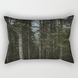 Oregon Trees Rectangular Pillow