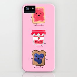 Breakfast Is Jammin' iPhone Case