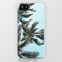 Perfect Palm Skies iPhone Case