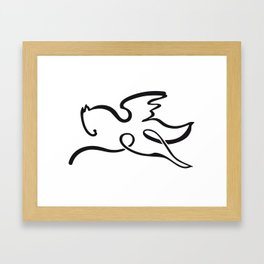 Pegasus 1 Framed Art Print