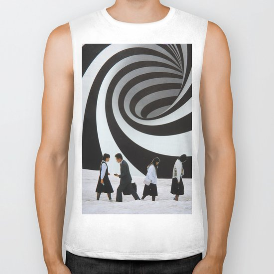 Back and Forth Biker Tank