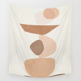 Balancing Elements II Wall Tapestry