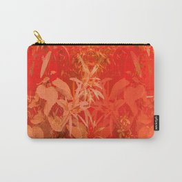 Beautiful red foliages - illustration of garden Carry-All Pouch