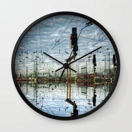 Leica Train Wall Clock