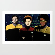 IT Trek Art Print