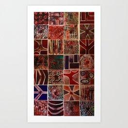 Quilt of a Sort Art Print