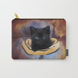 Galaxy Cat and Red Nebula Carry-All Pouch