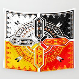 The Four Directions Wall Tapestry