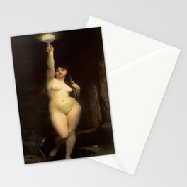 The Truth by Jules Joseph Lefebvre Stationery Cards