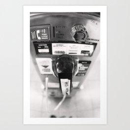 New York Phonebooth 3 Art Print
