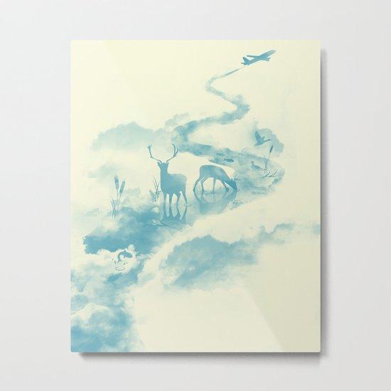 Jetstream Metal Print