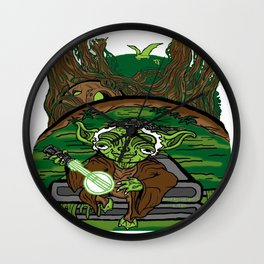 The Dagobah Connection Wall Clock