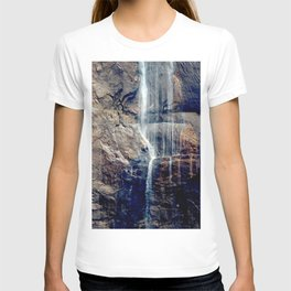 Waterfall at National Park T-shirt
