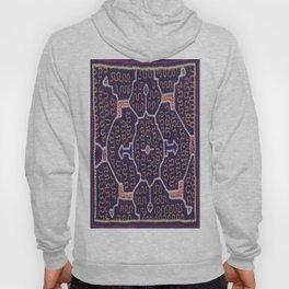 Song to Bring Wealth & Prosperity - Traditional Shipibo Art - Indigenous Ayahuasca Patterns Hoody