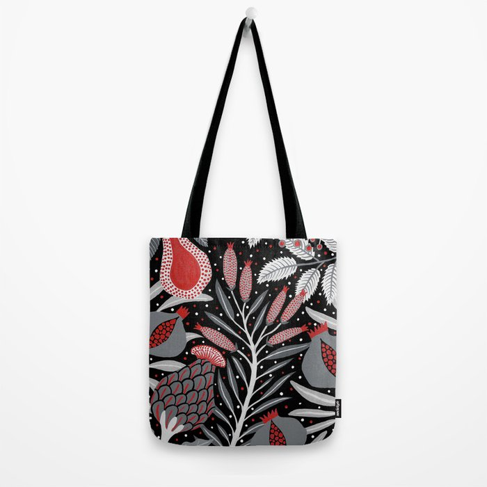 Winter scene with summer fruits Tote Bag