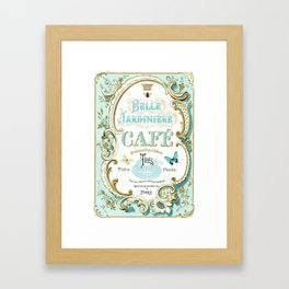 Belle Jardiniere Framed Art Print