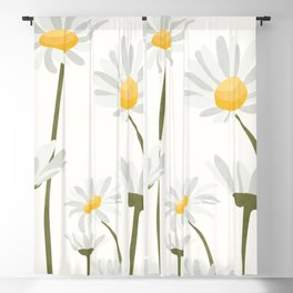 Summer Flowers III Blackout Curtain