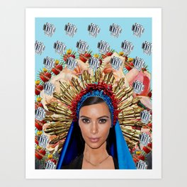 KimK Art Print