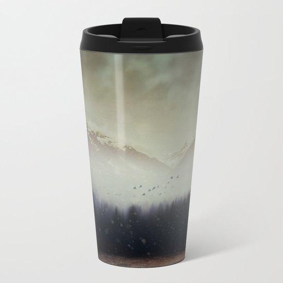 Winter Shade Metal Travel Mug