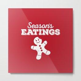 Season's Eatings Metal Print