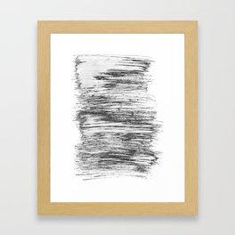 Texture#21 Dry brush Framed Art Print