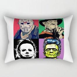 Horror Pop Art Rectangular Pillow