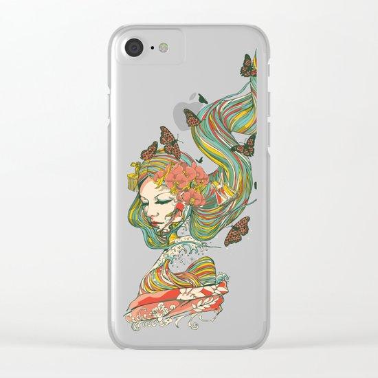 Geisha Clear iPhone Case