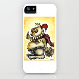 Crazy Funny Bear iPhone Case