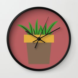 Little Succulent Wall Clock