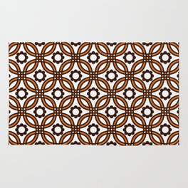 Retro Nineteen Seventies Design Rug