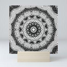 graphic star Mini Art Print