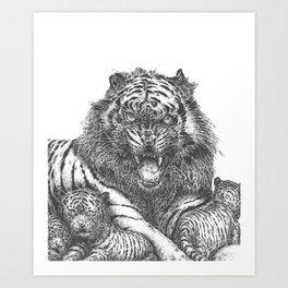 Mother Love Art Print