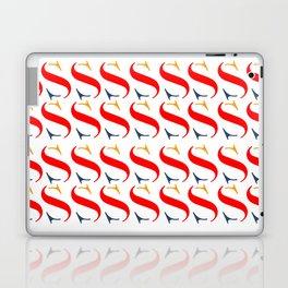 Bauhaus font art vintage Laptop & iPad Skin