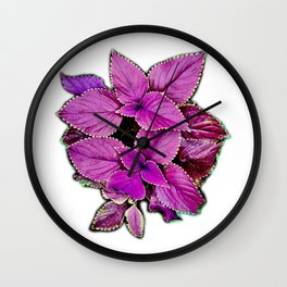 Ode to Leaves Wall Clock