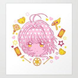 cardcaptor sakura, release! Art Print