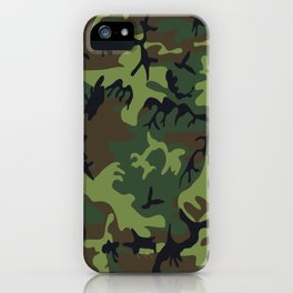 Army Camouflage iPhone Case