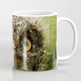 Western Screech Owl Baby Coffee Mug