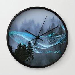Whale Music Wall Clock