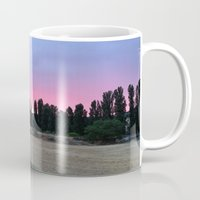 madrid Mugs featuring atardecer Madrid by Maritserg