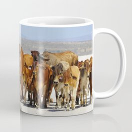 Pony leading the mob home Coffee Mug
