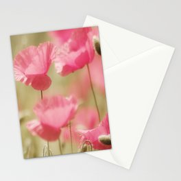 Poppy Dream in Pink Stationery Cards