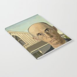 Gay American Gothic - LGBT Marriage Equality Notebook
