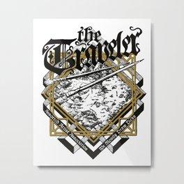 the Traveler Metal Print