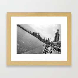 Chicago from Navy Pier Framed Art Print