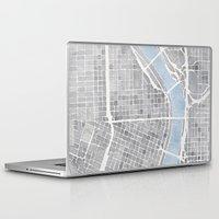 portland Laptop & iPad Skins featuring Portland Oregon by Anne E. McGraw