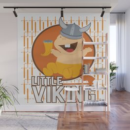 Viking Baby Son Dad Fathers Day Valhalla Gods Gift Wall Mural